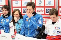 Světový pohár ve sprintu v běhu na lyžích se koná tento víkend.