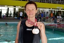 Liberecká Lenka Stluková získala dvě medaile na plaveckých závodech ve Vídni.