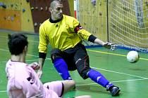 Ilustrační. Futsalový zápas mezi TTNF Liberec a Alex Liberec.
