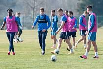 Liberečtí fotbalisté trénovali v areálu Letka.