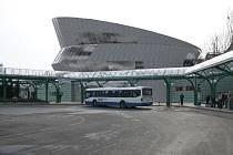 Takto měla podle návrhu vypadat nová odbavovací hala za 60 milionů korun.