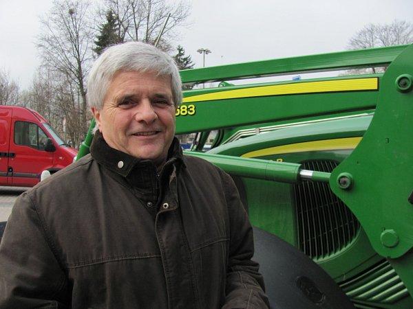 Robert Erlebach, místopředseda Regionální agrární rady.