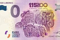 Náhled suvenýrové bankovky.