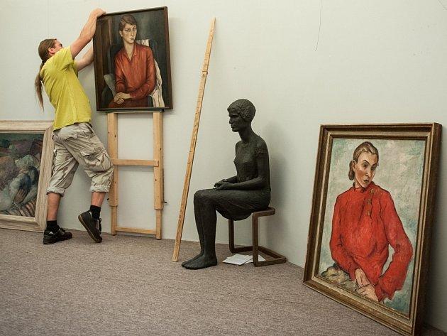 Poslední výstava v Oblastní galerii v Liberci