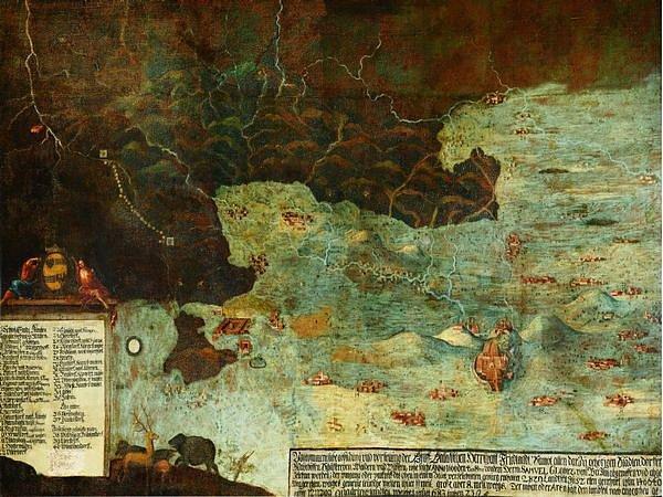 Globicova mapa.