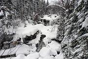 Zima v Jedlovém dole.