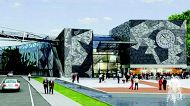 Vizualizace budoucího centra Promenáda.