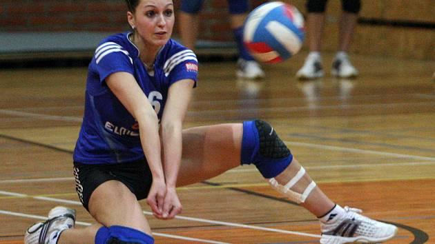 Jana Endlerová z TU Liberec se spoluhráčkami podlehla favorizovanému Prostějovu jasně 0:3.