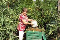 Liberec zvažuje pořídit hnědé kontejnery na bioodpad.