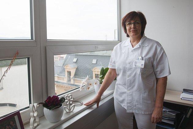 Ředitelka ošetřovatelské péče Marie Frühaufová.