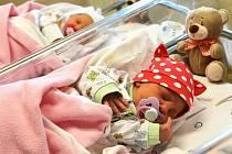 Novoroční dvojčata. Holčičky se narodily v liberecké porodnici.
