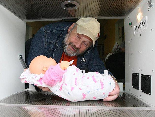 Duchovní otec babyboxů Ludvík Hess.