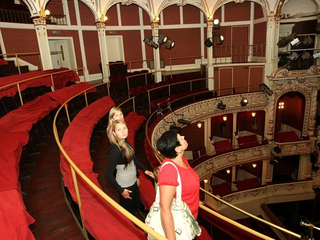 Prohlídka divadla F.X. Šaldy