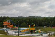 Už dva roky je Aquapark v Bogatynie bez lidí. Bývalý starosta nechal postavit areál za 10 milionů zlotých nelegálně. Nové vedení se teď snaží stavbu zlegalizovat.