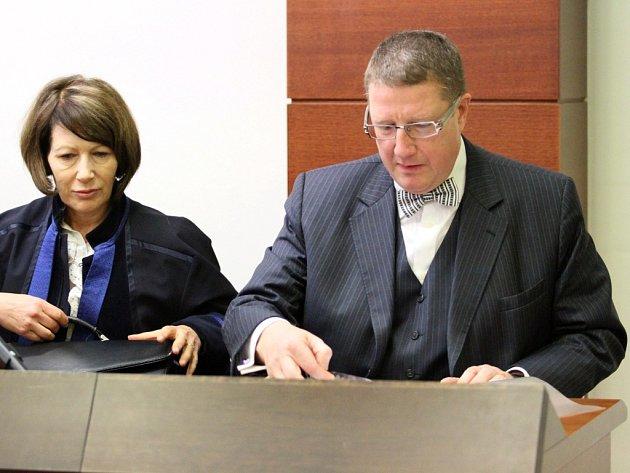 Jiří Kittner u Krajského soudu v Liberci.