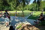Zahájení sezony na Lesním koupališti v Liberci
