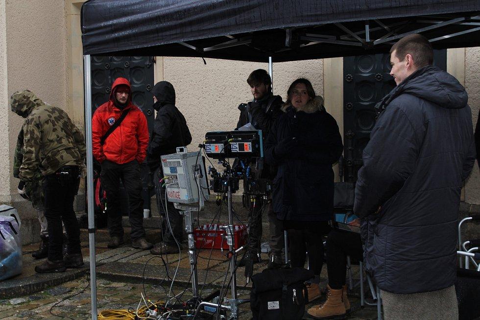 V Liberci se natáčel televizní seriál World on Fire.