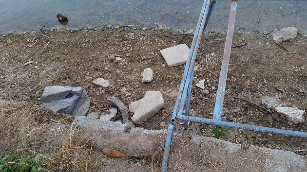 Uliberecké přehrady nalezl dělostřelecký granát.