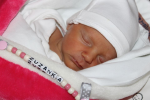 Zuzana Karmazinová se narodila 20. října 2018 v liberecké porodnici mamince Michaele Cihlářové ze Žďáru u Mnichova Hradiště. Vážila 2,4 kg a měřila 48 cm.