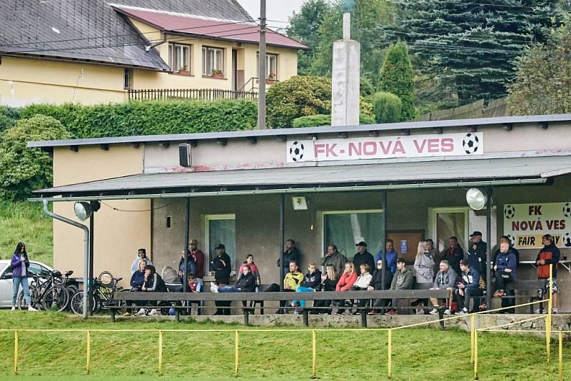 Okresní přebor: Dětřichov - Nová Ves.