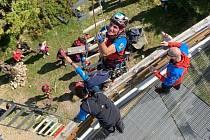 Horští záchranáři soutěžili v Jizerkách.