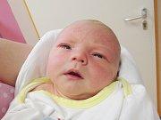 ADAM KAUŠKA Narodil se 2. dubna v liberecké porodnici mamince Zdeně Kauškové z Hodkovic n. M. Vážil 3,60 kg a měřil 53 cm.