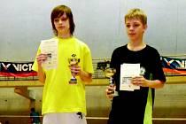 Úspěšní badmintonisté