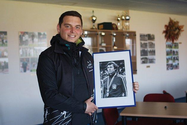 Tomáš Krištof, trenér mladých atletů.