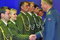 Zdeňka Košvancová z liberecké jednotky 31. brigády radiační, chemické a biologické ochrany.