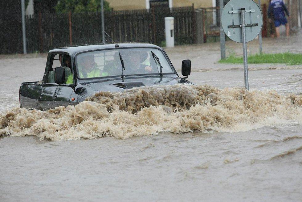 Povodně na Liberecku.
