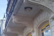 Balkon, který v Chrastavě opraví.