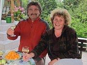 Francouz Didier Delépine s manželkou Jarmilou žije v Držkově na Jablonecku