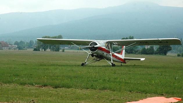 Liberecké letiště. Ilustrační foto.