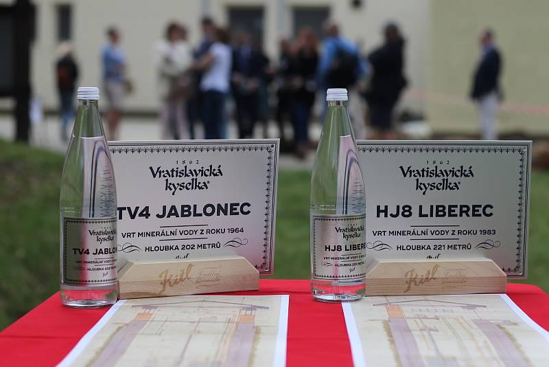 Obnovené vrty Jablonec a Liberec.