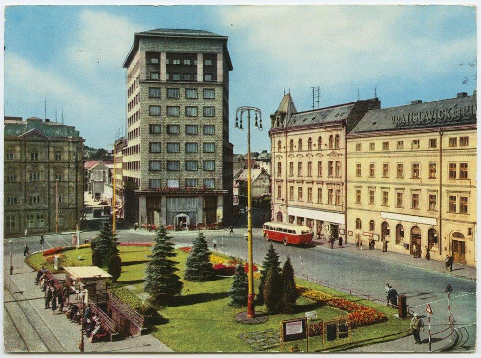 Historický snímek Liberce, 1960