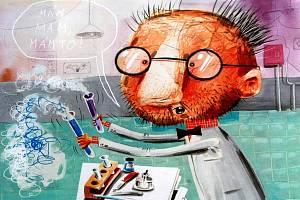V úterý 8. března v KVKLI nainstalovali a slavnostně zahájili výstavu ilustrací dětských knížek To nejlepší z ilustrace 2010.