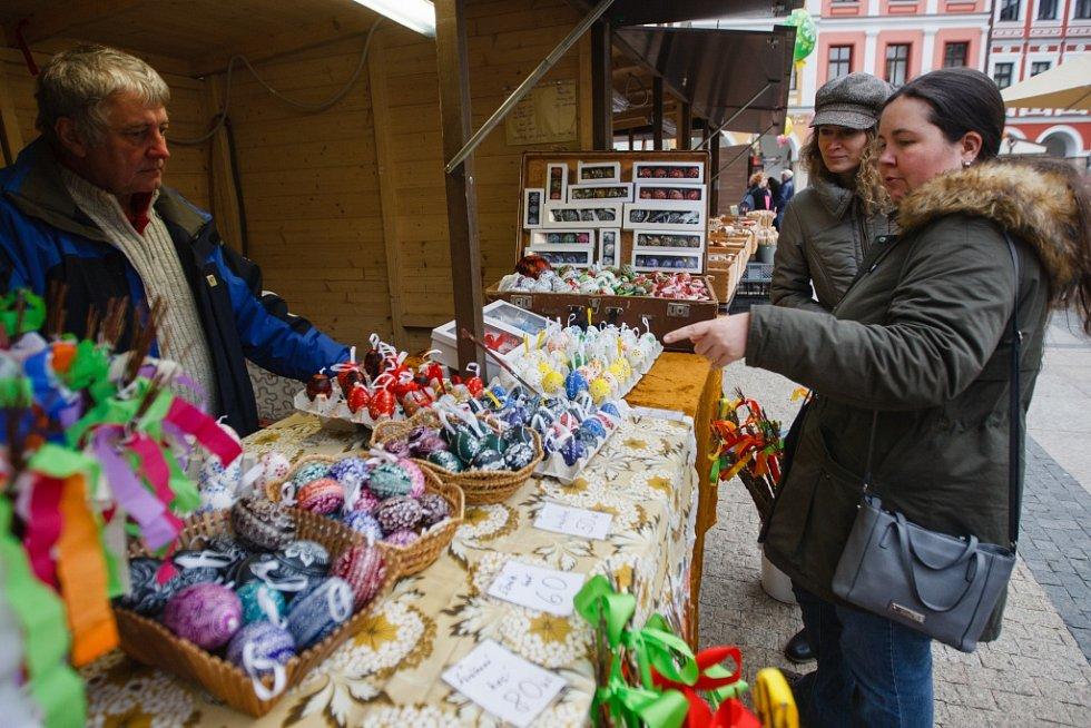 Liberecké Velikonoční trhy, 2019.