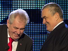 Miloš Zeman vs. Karel Schwarzenberg