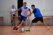Michal Beran při futsalovém tréninku.