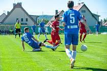 Fotbalisté Slovanu zdolali druholigovou Chrudim 2:1.