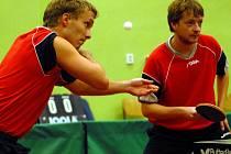 Vlevo Jakub Borůvka, vedle něj Petr Macela. Ilustrační foto
