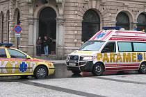 Nehoda se stala mezi kavárnou Pošta a Divadlem F. X. Šaldy.