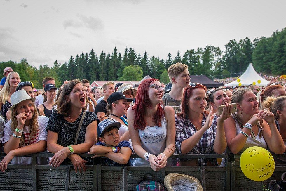 Ve sportovním areálu Vesec v Liberci proběhl 28. července závěrečný den 26. ročníku hudebního festivalu Benátská!