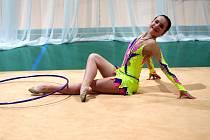 Moderní gymnastika.