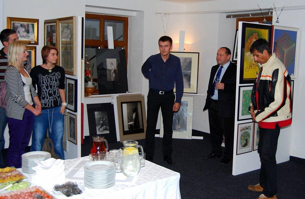 REMBRANDT V LIBERCI. Galerie Liberec vystavuje jeho devětadvacet grafických listů s portréty a krajinami. Vernisáž.