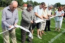 Chrastava má nové fotbalové hřiště