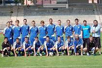 Starší dorost Slovanu Liberec.