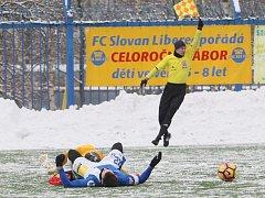 Ve Slovanu jsou na testech zahraniční hráči.