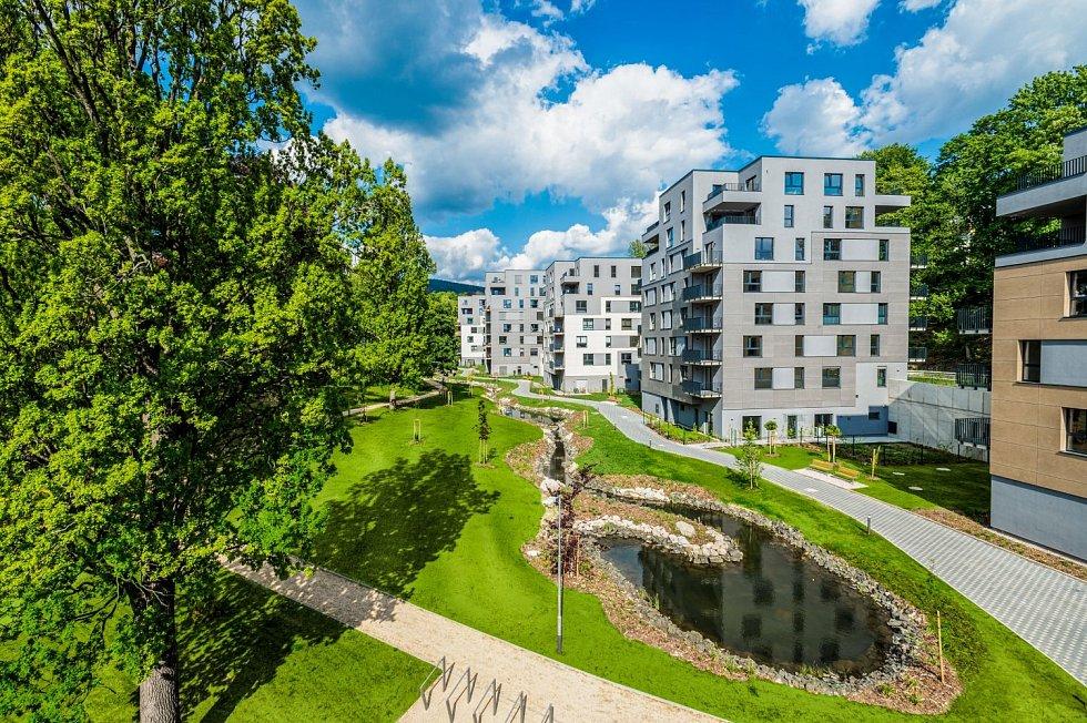 Rezidence - Park Masarykova v Liberci.
