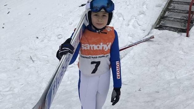 Natálie Nejedlová z SK Ještěd Liberec.